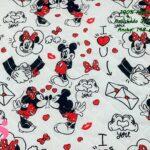 6-telas-acolchadas,estampados-acolchados-infantiles,acolchados-para-fundas,-telas-para-fundas-de-carrito-de-bebes,Acolchado Mickey y Minnie Love