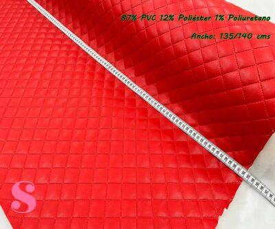 10-telas-acolchadas,acolchados-guateados,tejidos-guateados,tejidos-impermeables,telas-para-neceseres,telas-para-bolsos,Polipiel Acolchada Rojo