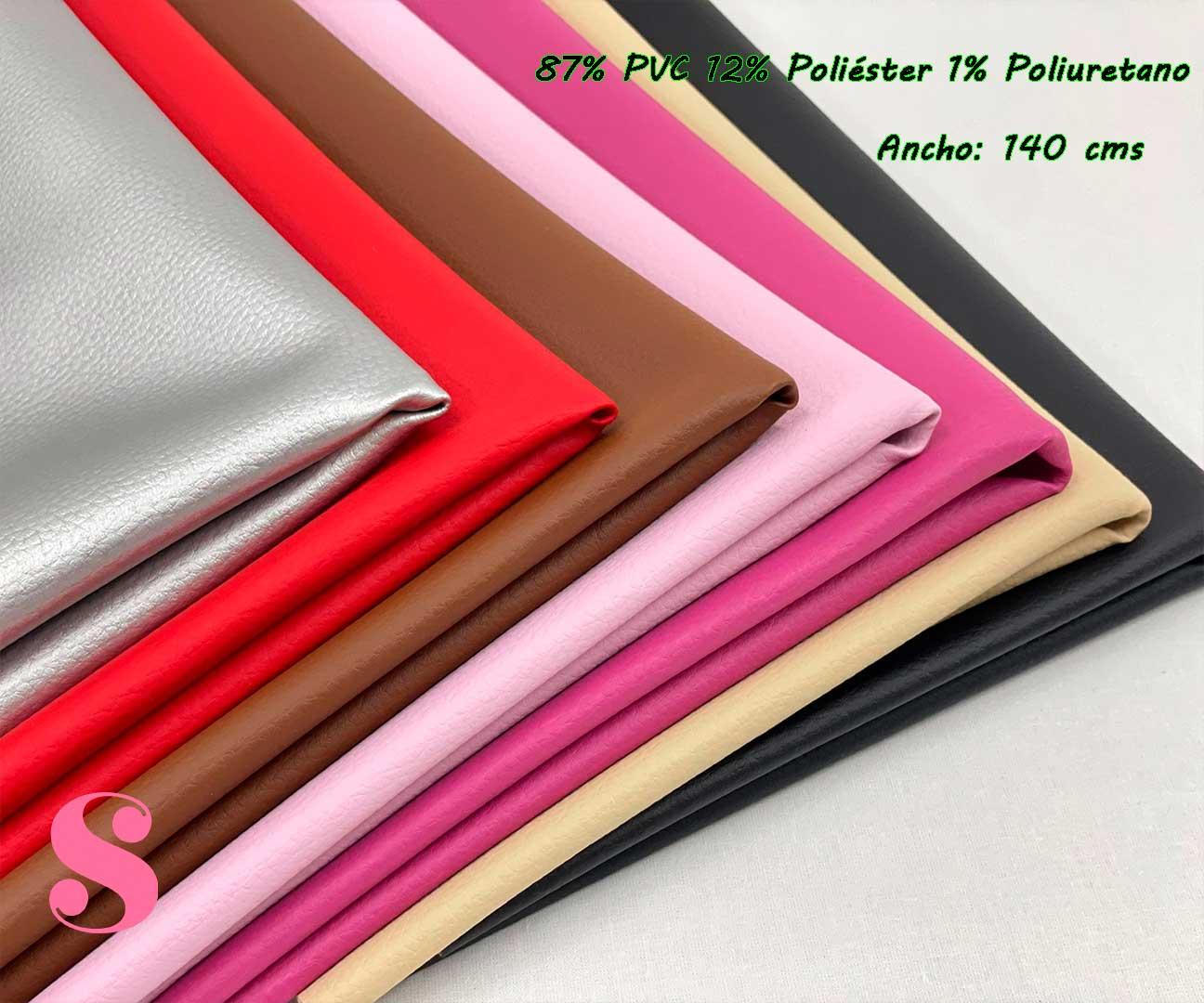 6-telas-de-invierno,tejidos-impermeables,-telas-de-moda,-polipiel-de-buena-calidad,Polipiel Rojo