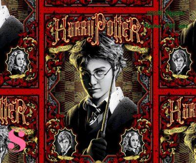 13-telas-infantiles,estampados-infantiles,telas-disney,telas-con-licencia,telas-estampadas-frikis,telas-por-metros,Tejido Estampado Harry Potter Prisoner of Azkaban