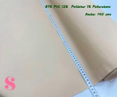 4-telas-de-invierno,tejidos-impermeables,-telas-de-moda,-polipiel-de-buena-calidad,Polipiel Beige