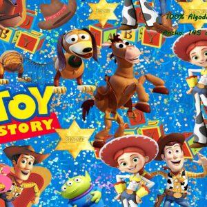 0023 Tejido Estampado Toy Story Sheriff