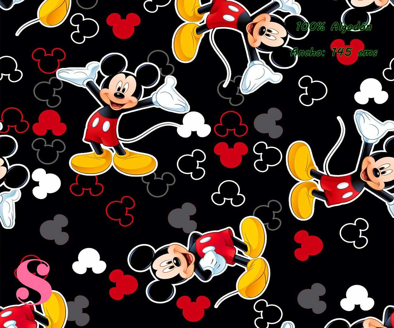 7-telas-infantiles,estampados-infantiles,telas-disney,telas-con-licencia,telas-estampadas-frikis,telas-por-metros,Tejido Estampado Mickey & Minnie Citie